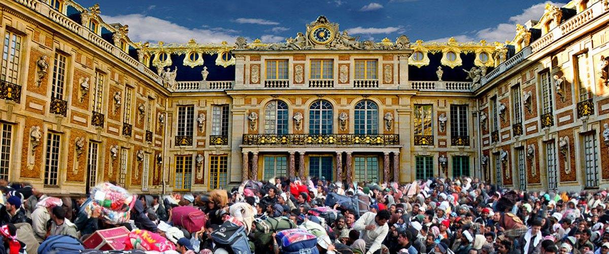 Le Château de Versailles accueillera 250 migrants pour les loger dignement
