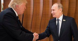 Affaire russe : pendant ses vacances, Trump a confié la gestion des USA à Poutine