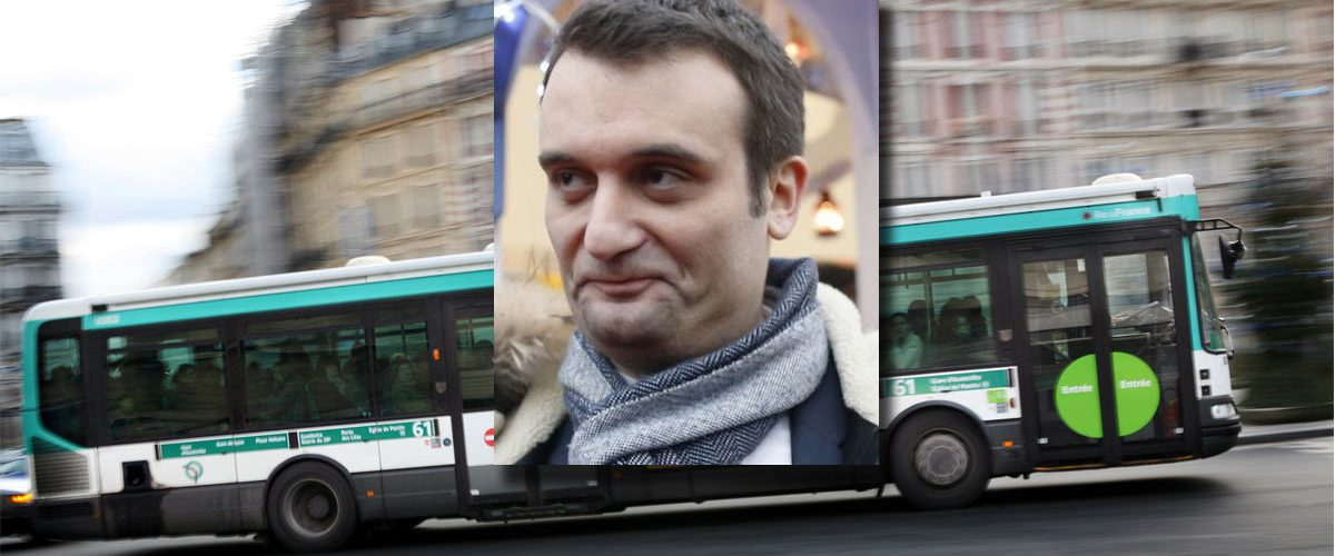 Le viol collectif de Florian Philippot dans un bus indigne la France