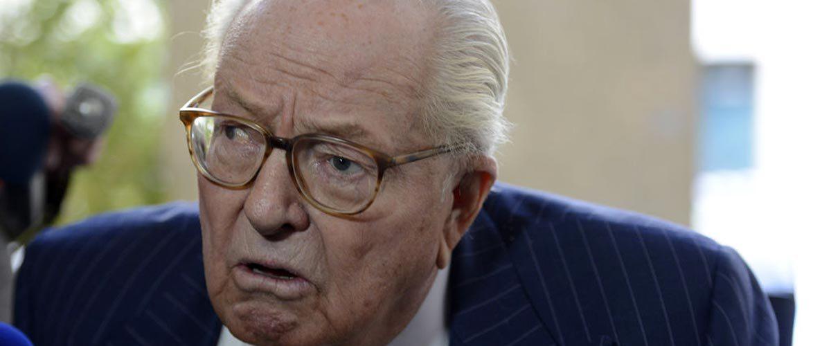 Jean-Marie Le Pen demande l'euthanasie en Belgique
