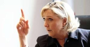 """""""Les nazis c'est nous ! """" : Marine Le Pen furieuse suite au discours de Mélenchon"""