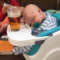 Baisse record de la consommation d'alcool chez les bébés français