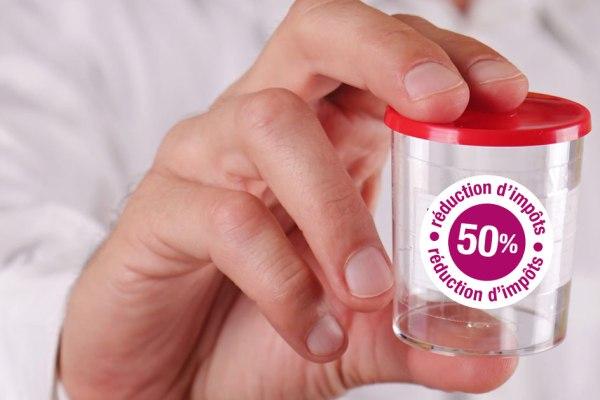 PMA : les dons de sperme bientôt déductibles fiscalement ?
