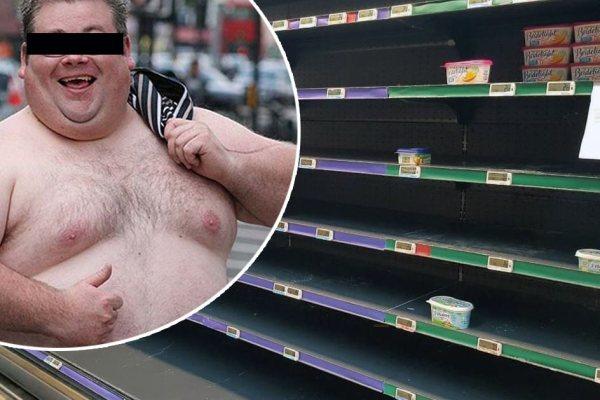Enfermé dans un supermarché, un breton mange 12 kilos de beurre pendant la nuit