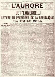 jaccuse-emile-zola-lettre-1-216x300 LITTÉRATURE : Emile Zola, premier écrivain français d'origine africaine