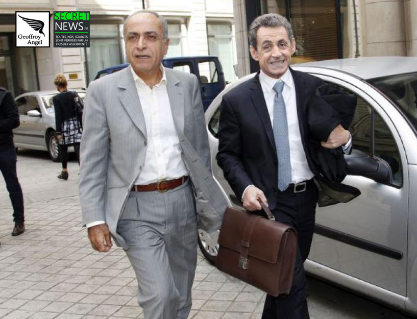 nicolas-sarkozy-ziad-takiedine-1 La photo qui accuse : Ziad Takieddine remettant une sacoche d'argent lybien à Nicolas Sarkozy