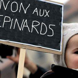 Écoles maternelles bloquées : les enfants mobilisés contre les épinards à la cantine