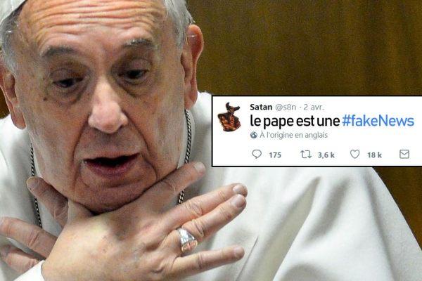 Exclusif : Satan dément l'existence du Pape