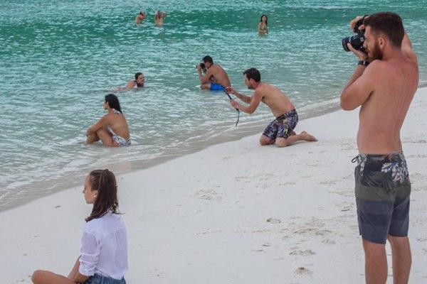 87% des gens en couple avec un conjoint possédant un compte Instragam passent de mauvaises vacances