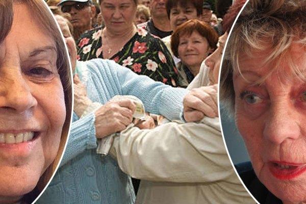Orly : violente bagarre entre Annie Cordy et Chantal Goya … 6 faux ongles et deux déambulateurs cassés