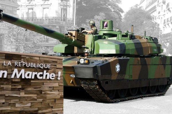 Affaire Benalla : un char Leclerc et des pièces d'artillerie découverts sur le parking du siège d'En Marche