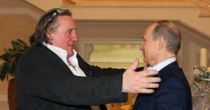 Gérard Depardieu nommé ambassadeur russe pour la distribution de vodka en Europe