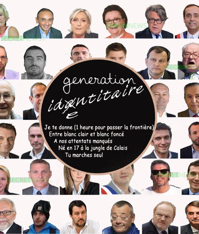 generation-identitaire-album-secretnews Génération Identitaire : les chœurs de l'armée brune réunis dans une compil' au profit des projets patriotes