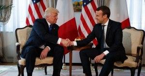 Emmanuel Macron demande des renforts militaires à Donald Trump pour gérer les Gilets Jaunes