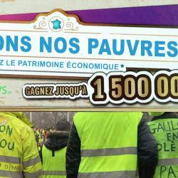 """""""Sauvons nos pauvres"""" - La hausse du SMIC sera financée par un Loto du Patrimoine Économique"""
