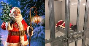 Arrêté avec un bâton, le Père Noël sera jugé pour port d'arme prohibé