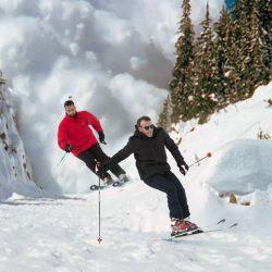 Une avalanche déclenchée par deux skieurs non-identifiés venus sniffer de la poudreuse