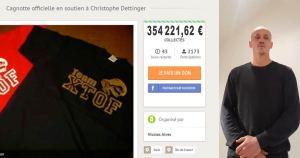 La cagnotte de soutien au boxeur Christophe Dettinger saisie pour payer les primes des CRS