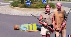 Chasse aux Gilets Jaunes : des safaris proposés par un tour-operateur américain