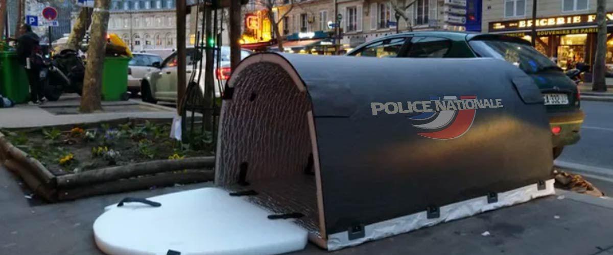 Des mini-morgues pour cacher les Gilets Jaunes abattus par la police