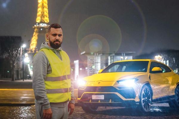 Eric Drouet s'est offert une Lamborghini Urus à 250.000€