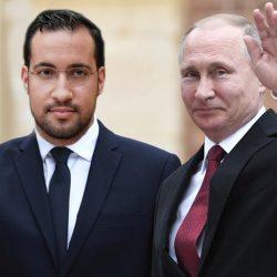 Vladimir Poutine accorde la nationalité russe à Alexandre Benalla