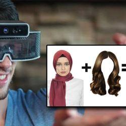 Lunettes anti-hijab : la réalité augmentée pour ajouter des cheveux virtuels aux femmes voilées