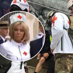 """Brigitte Macron devient """"Street Medic"""" et soignera les Gilets Jaunes blessés"""