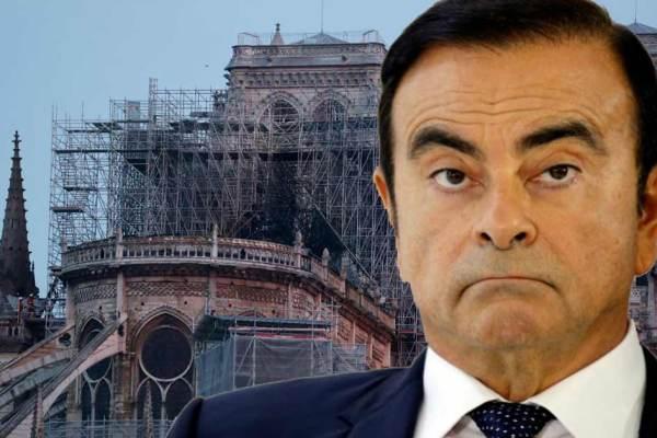 Carlos Ghosn débloque 300 millions d'euros pour la rénovation de Notre-Dame