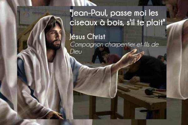 Jésus participera aux travaux de reconstruction de la charpente de Notre-Dame