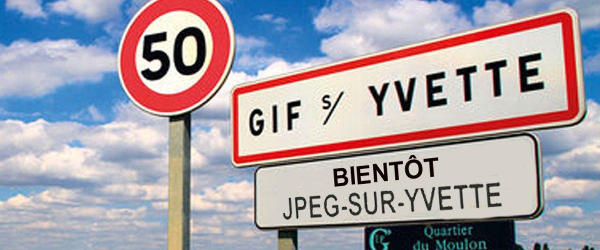 Gif-sur-Yvette renommée Jpeg-sur-Yvette à cause de son manque d'animation