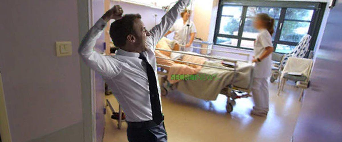 Macron danse à l'hôpital pour fêter la remontada de Vincent Lambert ...