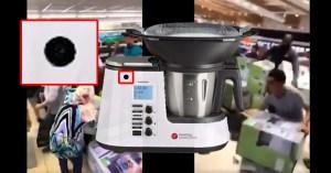 Les robots de cuisine vendus moins chers contiennent une caméra et un micro espion
