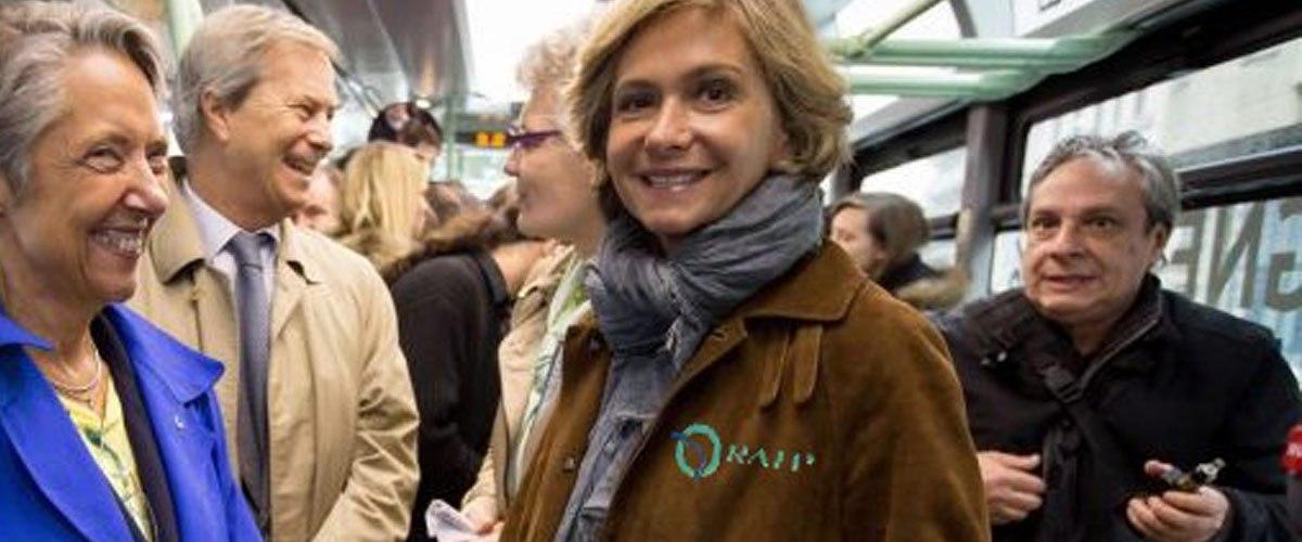 Reconversion professionnelle : Valérie Pécresse devient contrôleuse RATP