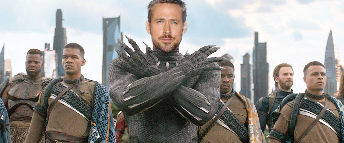 Black Panther 2 : Ryan Gosling remplace Chadwick Boseman et sera T'Challa