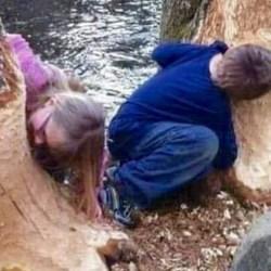 Des végans arrêtés : leurs enfants affamés mangeaient des arbres pour survivre