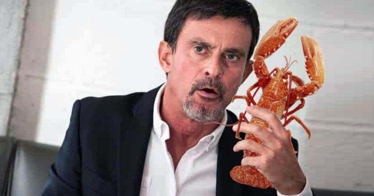 «Moi je tolère le homard» :  Manuel Valls candidat pour remplacer François de Rugy