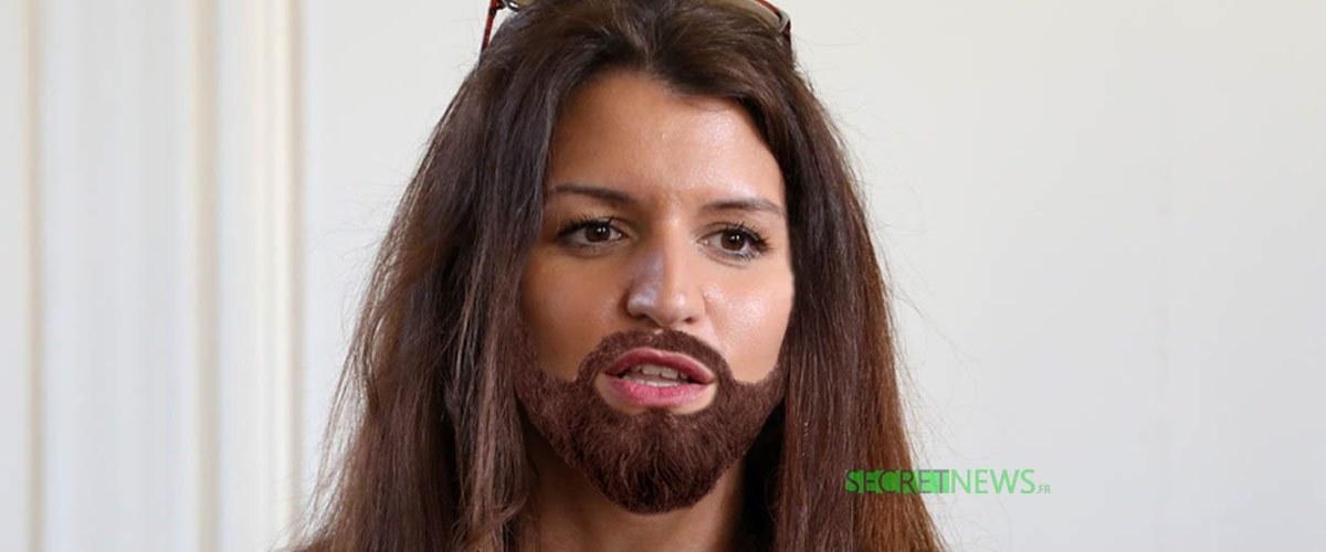 Marlène Schiappa change de look et se laisse pousser la barbe pour une bonne cause