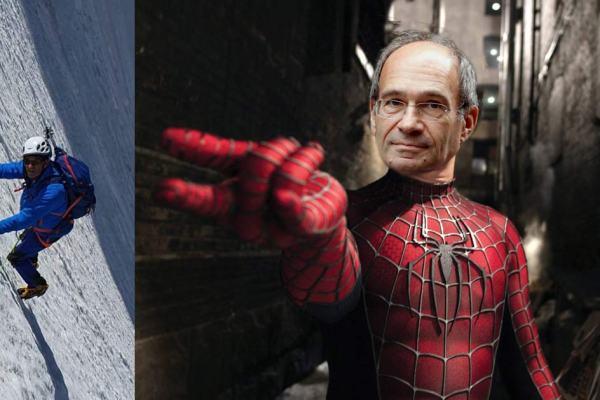 Eric Woerth jouera Peter Parker dans le prochain Spiderman