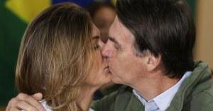 Jair Bolsonaro n'embrassera plus sa femme car le French Kiss est d'origine française