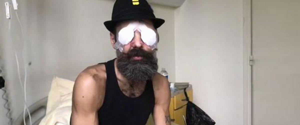 Jérôme Rodrigues a perdu son deuxième œil en pêchant au harpon à Cancún avec Mélenchon