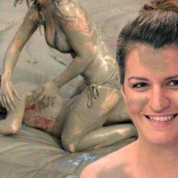 Marlène Schiappa a assisté à un combat de catch féminin dans la boue