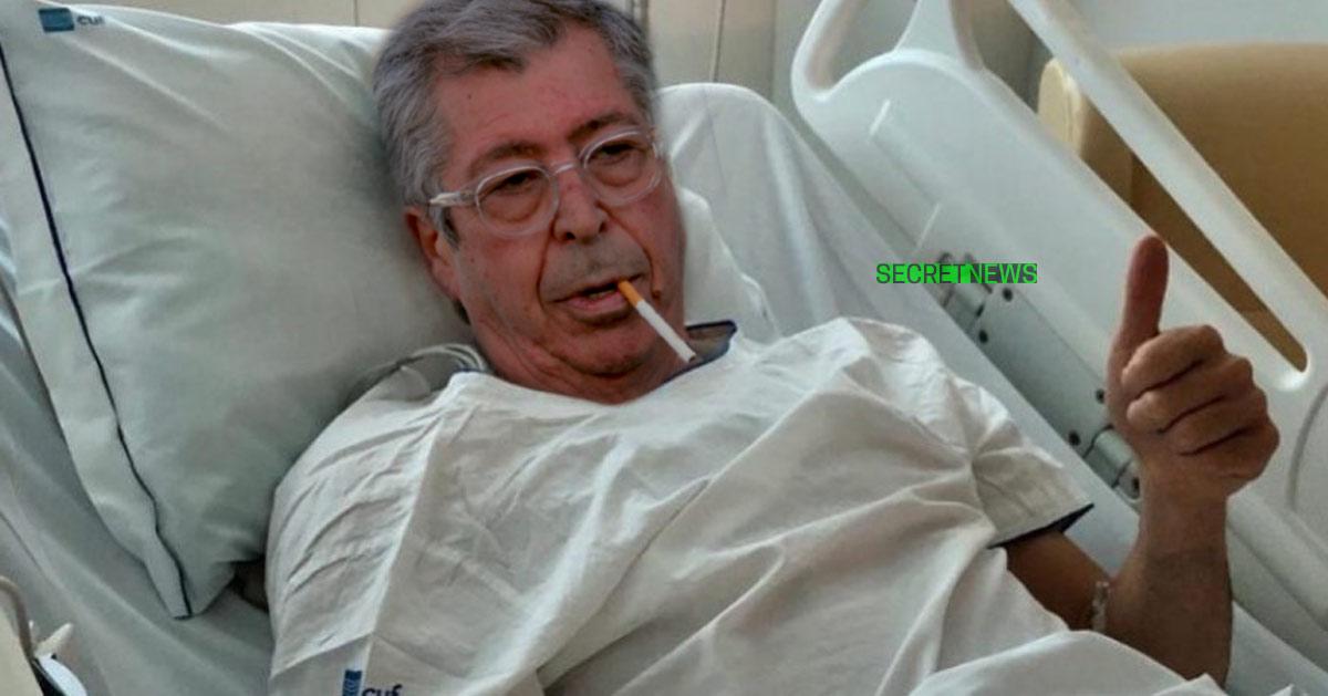Patrick Balkany hospitalisé à cause d'une double hernie fiscale €€€