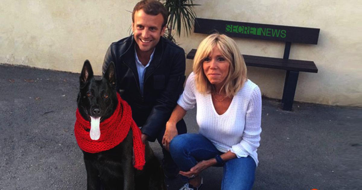 """chien-macron-echarpe-rouge-christophe-barbier """"Je l'ai volée à Mélenchon"""" : Christophe Barbier dévoile tout sur son écharpe rouge"""