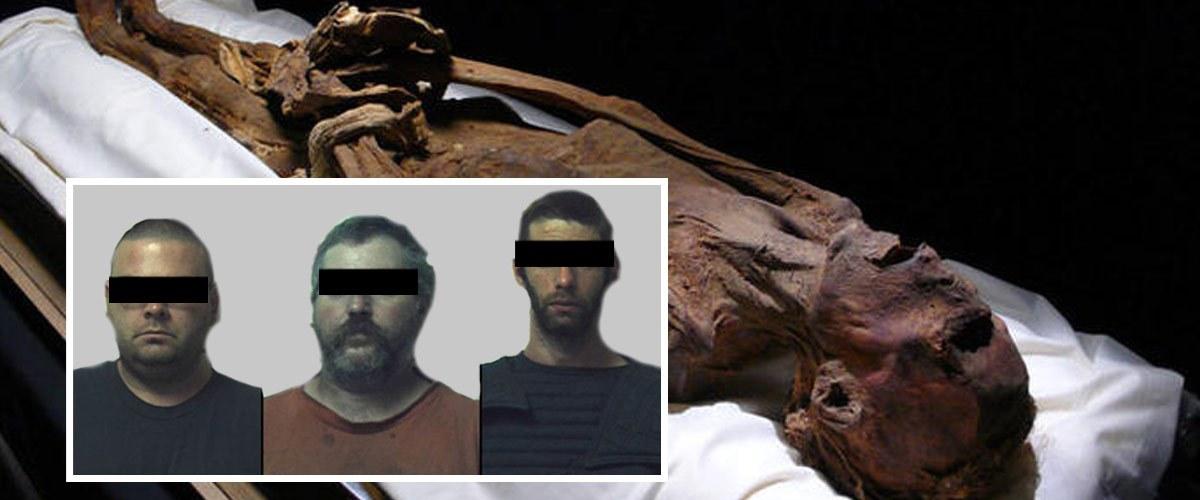 Trois gardiens de musée accusés d'avoir violé une momie de 3.000 ans