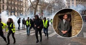 Du gaz moutarde et sarin découverts dans les lacrymogènes de la police