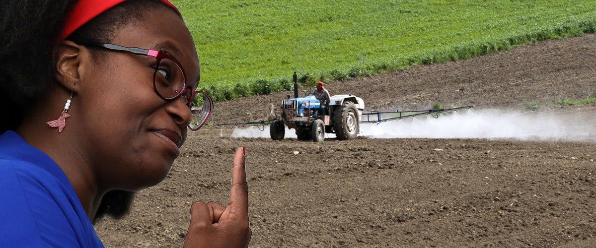 Sibeth Ndiaye promet que les pesticides s'arrêteront aux portes des habitations