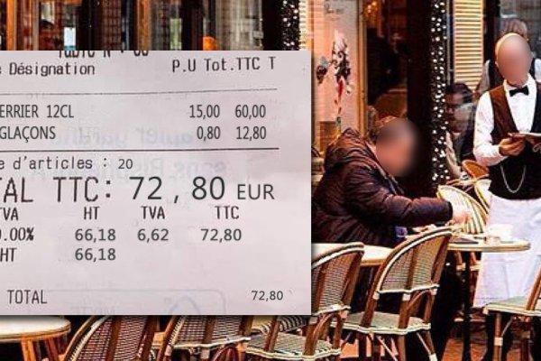 Réchauffement climatique : le prix des glaçons augmente dans les bistrots parisiens