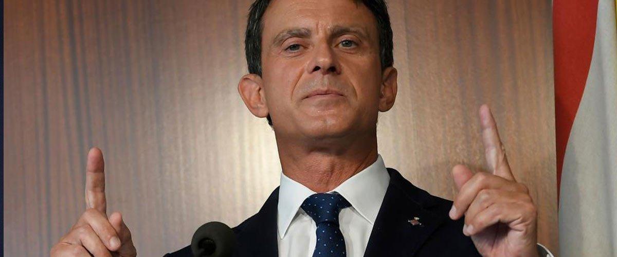 Liban : Manuel Valls officiellement candidat pour remplacer Saad Hariri
