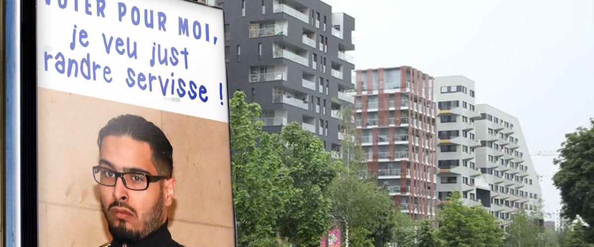 Depuis sa cellule, Jawad annonce sa candidature à la mairie de Saint-Denis